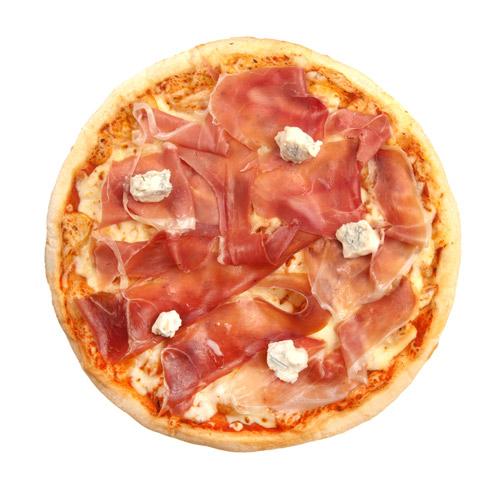 Pizza Prosciutto Crudo e Gorgonzolla