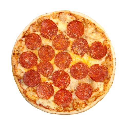 Pizza Quatro Fromaggi e salami piccante
